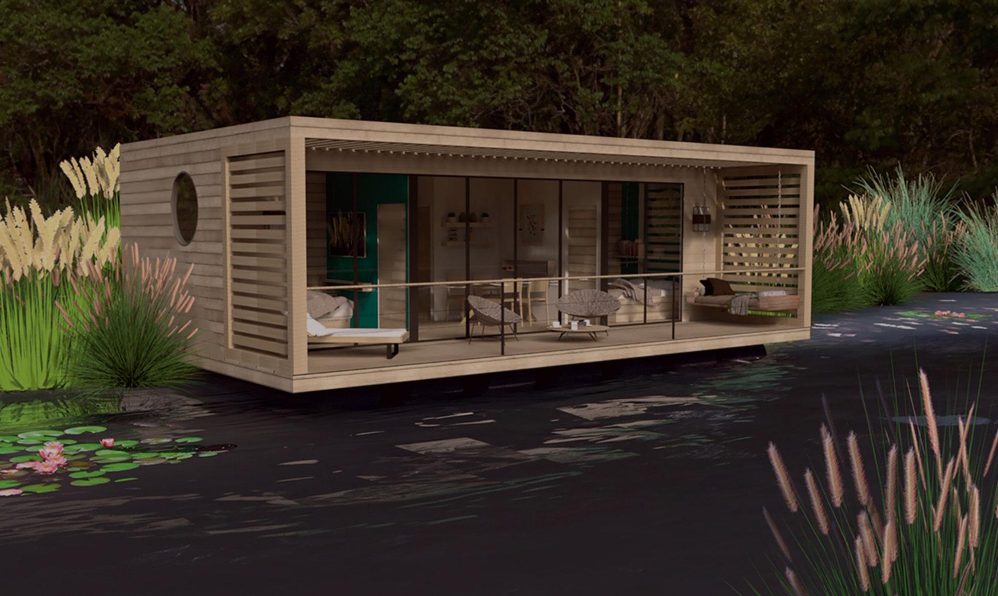 projet habitat flottant
