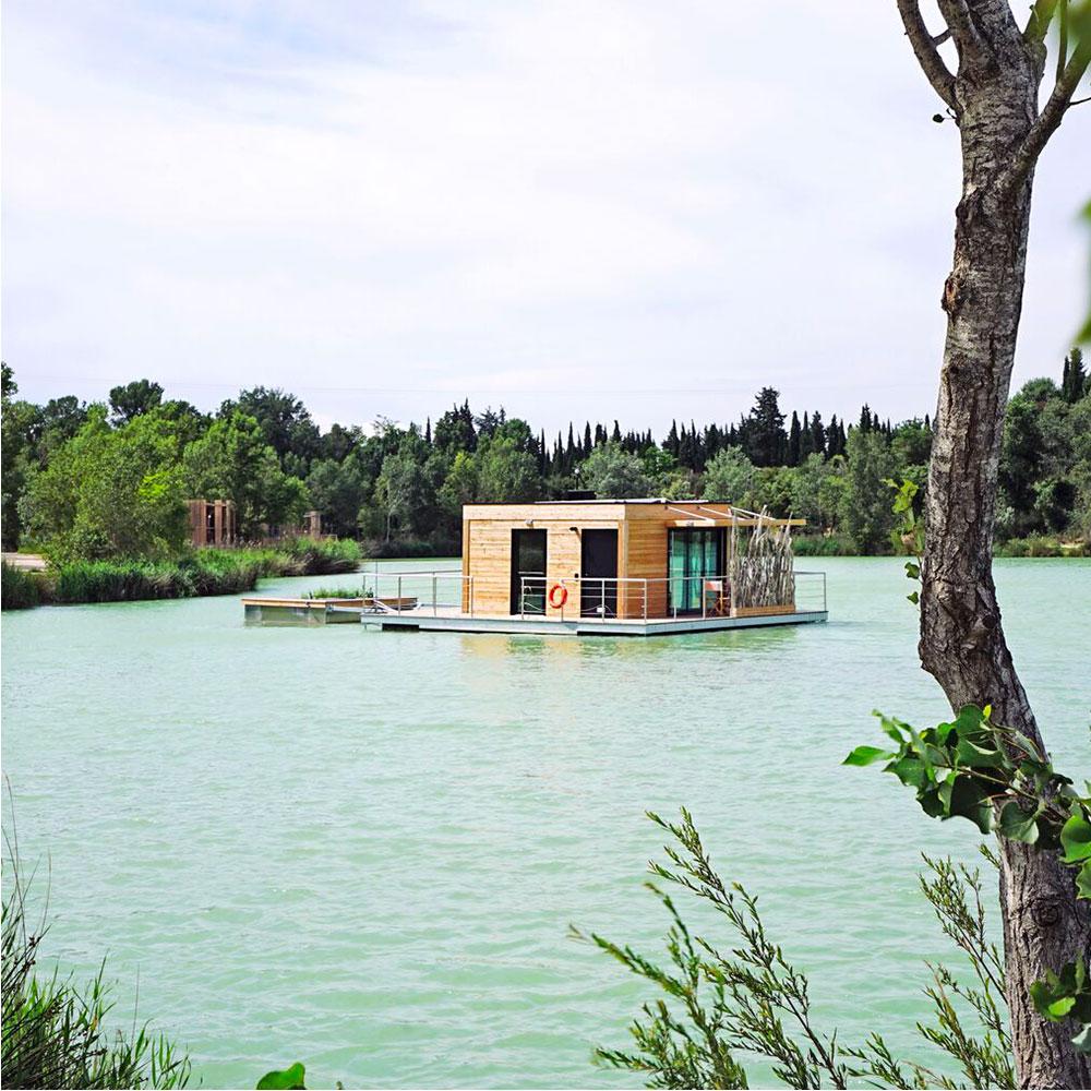 cabane flottante habitat