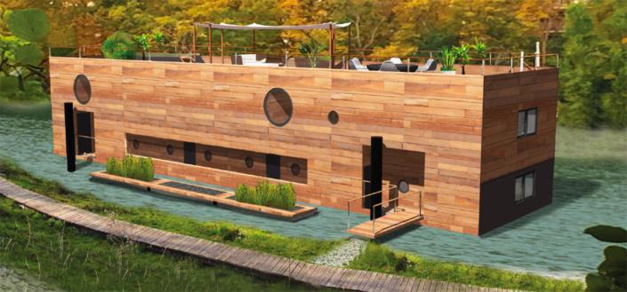 Bâtiment flottant